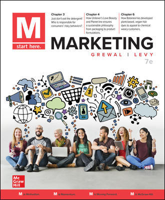 Test bank for M: Marketing 7th Edition by Dhruv Grewal