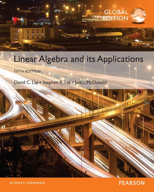 Test bank for Linear Algebra and Its Applications 5th Global Edition by David C. Lay的图片 1