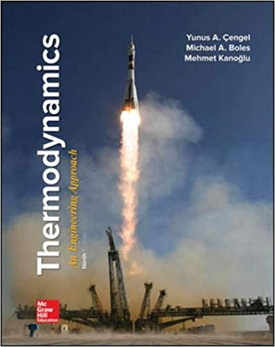 Solution manual for Thermodynamics: An Engineering Approach 9th Edition by Yunus Cengel