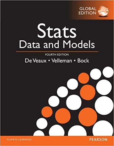 Solution manual for Stats: Data and Models 4th Global Edition by Richard D. De Veaux的图片 1