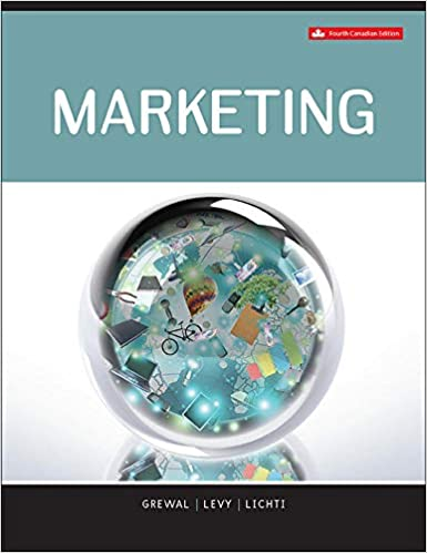 Test bank for Marketing 4th Canadian Edition by Dhruv Grewal