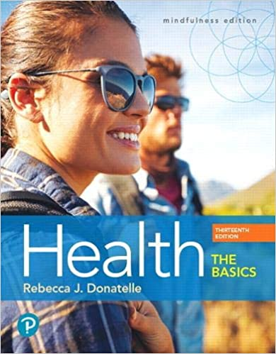 Test bank for Health: The Basics 13th Edition by Rebecca Donatelle的图片 1