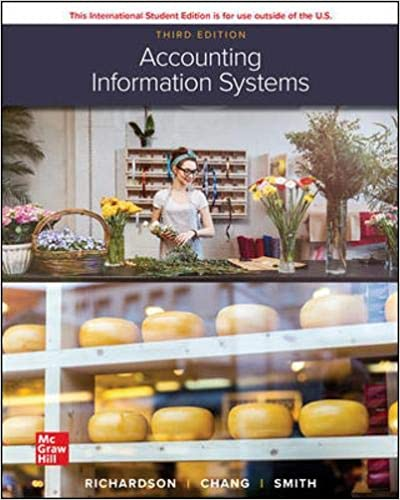 Test bank for Accounting Information Systems 3rd Edition by Vernon Richardson