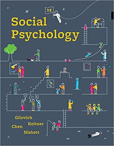 Test bank for Social Psychology 5th Edition by Tom Gilovich的图片 1
