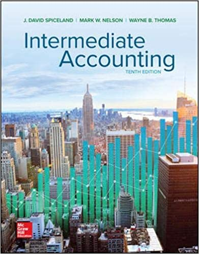 Solution manual for Intermediate Accounting 10th Edition Volume 1 Chapter 1 – 12 chapters by David Spiceland