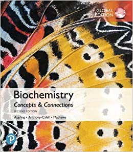 Test bank for Biochemistry: Concepts and Connections 2nd Global Edition by Dean R. Appling
