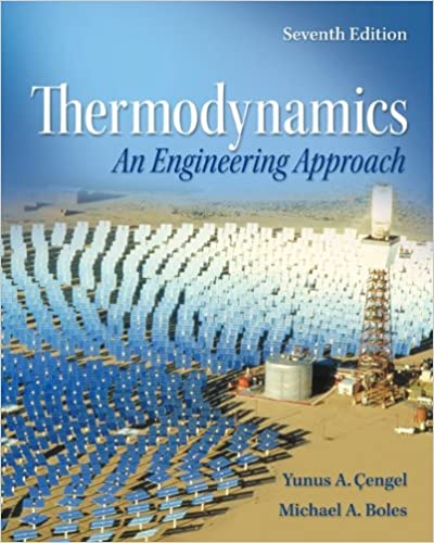 Solution manual for Thermodynamics : An Engineering Approach 7th Edition by Yunus Cengel的图片 1