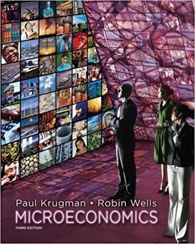 Test bank for Microeconomics 3rd Edition by Paul Krugman