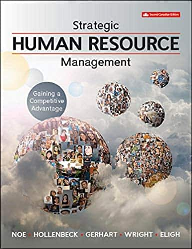Test bank for Strategic Human Resource Management: Gaining a Competitive Advantage 2nd Canadian Edition by Raymond Noe