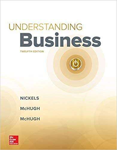 Test bank for Understanding Business 12th Edition by William Nickels