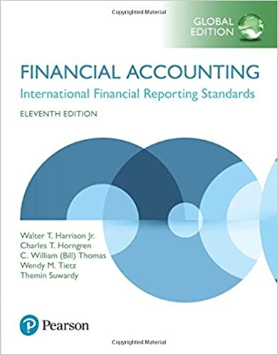 Test bank for Financial Accounting 11th Global Edition by Charles T. Horngren