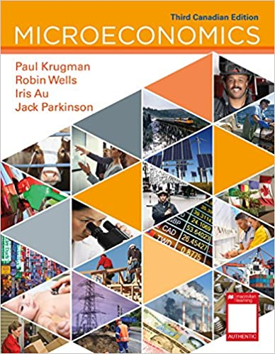 Test bank for Microeconomics: 3rd Canadian Edition by Paul Krugman的图片 1