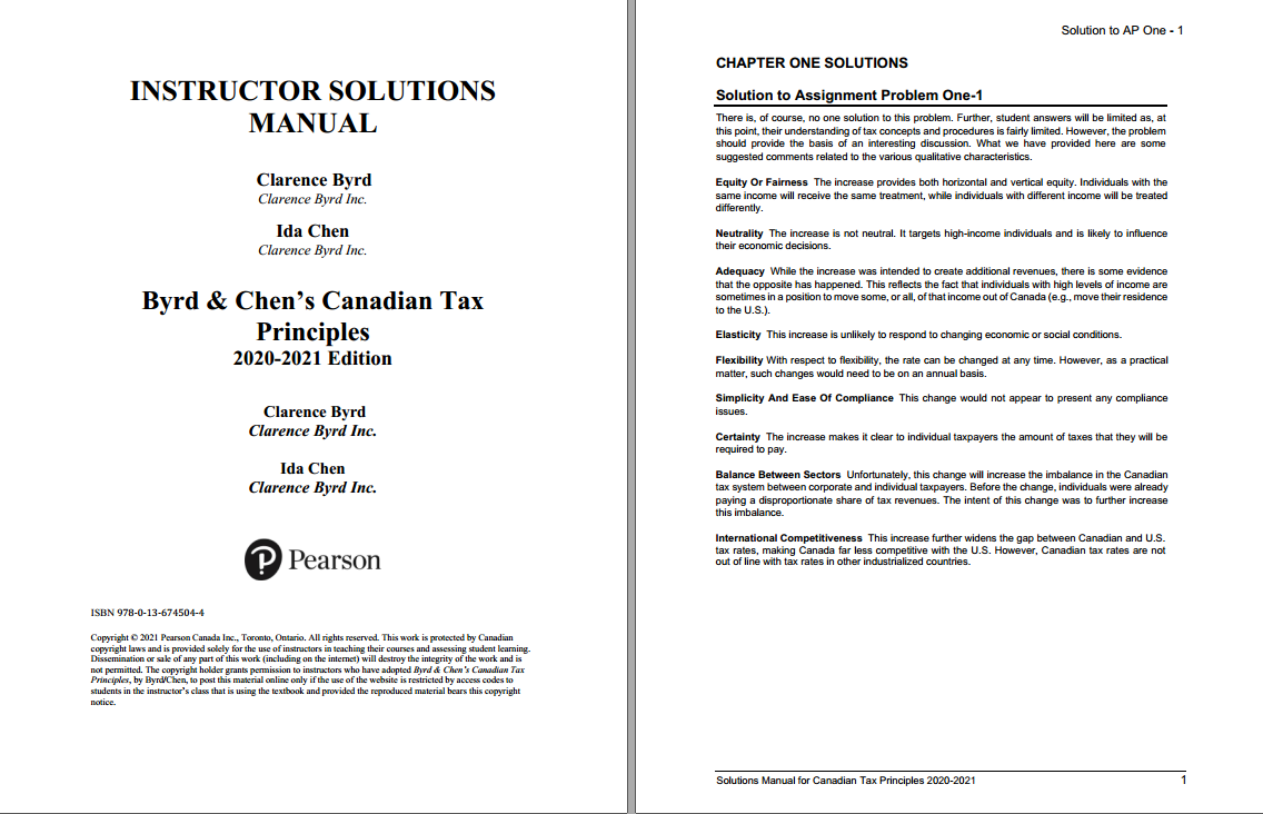 Solution manual for Byrd & Chen's Canadian Tax Principles 2020 – 2021 Edition by Byrd的图片 3