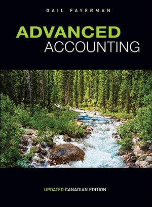 Test bank for Advanced Accounting 1st Updated Canadian Edition by Gail Fayerman的图片 1