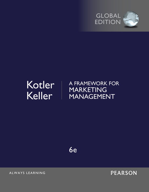 Test bank for A Framework for Marketing Management 6th Global Edition by Philip Kotler的图片 1