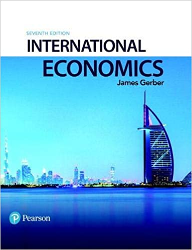 Solution manual for International Economics 7th Edition by James Gerber