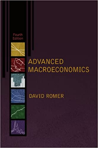 solution manual for Advanced Macroeconomics, 4th edition by David Romer的图片 1