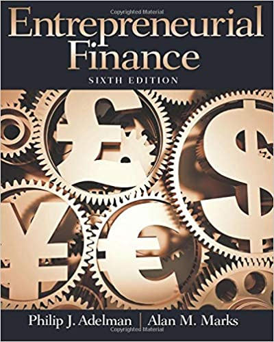 Test bank for Entrepreneurial Finance 6th Edition by Philip Adelman的图片 1