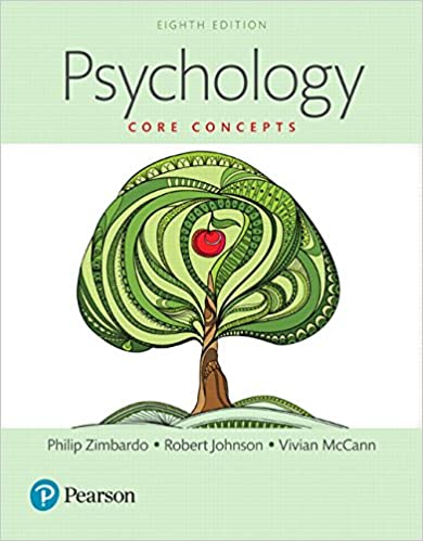 Test bank for Psychology: Core Concepts 8th Edition by Philip G. Zimbardo