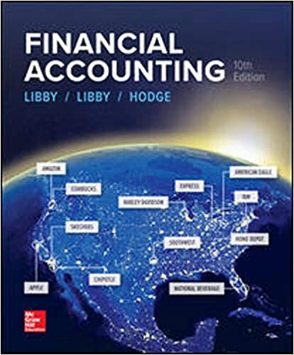Test bank for Financial Accounting 10th Edition by Robert Libby