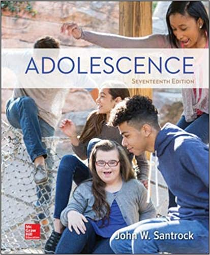 Test bank for Adolescence 17th Edition by John Santrock的图片 1