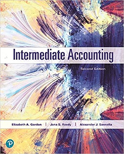Solution manual for Intermediate Accounting 2nd Edition by Elizabeth Gordon