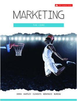 Test bank for Marketing: The Core 5th Canadian Edition by Roger A. Kerin的图片 1