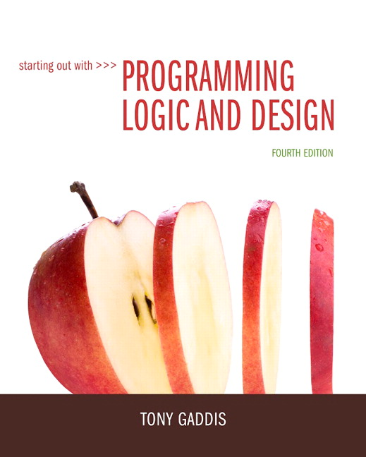 Solution manual for Starting Out with Programming Logic and Design 4th Edition by Tony Gaddis