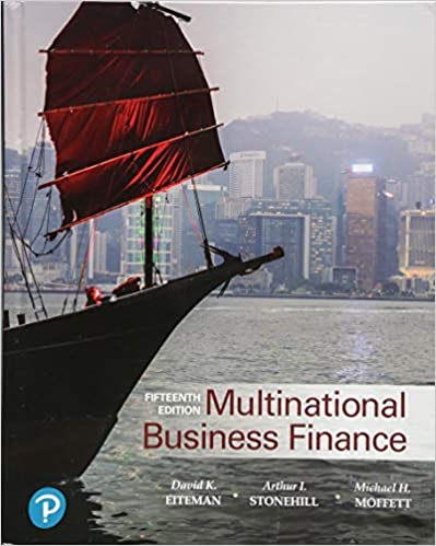 Test bank for Multinational Business Finance 15th Edition by David Eiteman