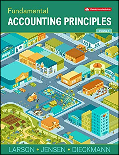 Solution manual for Fundamental Accounting Principles Volume 1 15th Canadian Edition by Larson
