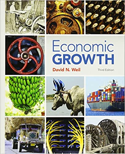 Solution manual for Economic Growth 3rd Edition by David Weil