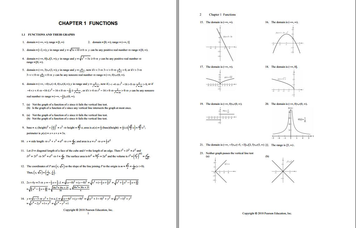 Solution manual for Thomas' Calculus: Early Transcendentals 14th Edition by Joel Hass的图片 3