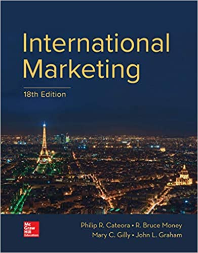 Test bank for International Marketing 18th Edition by Philip Cateora