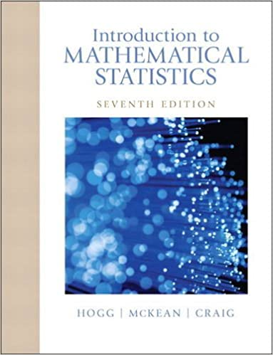 Solution manual for Introduction to Mathematical Statistics 7th Edition by Robert Hogg