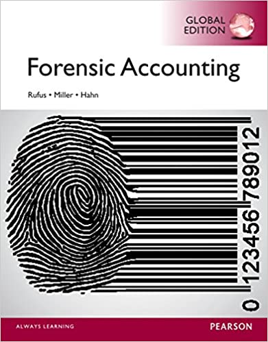 Test bank for Forensic Accounting 1st Global Edition by Bill Hahn的图片 1