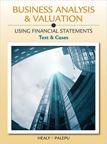 Solution manual for Business Analysis and Valuation: Using Financial Statements, Text and Cases 5th Edition by Krishna G. Palepu的图片 1