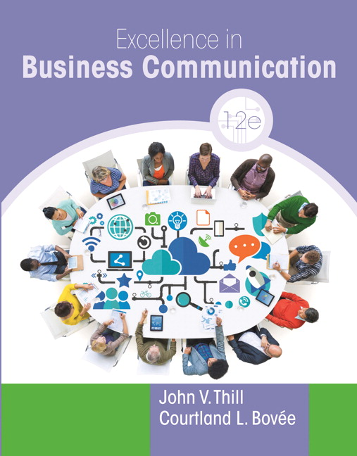 Test bank for Excellence in Business Communication 12th Edition by John Thill的图片 1