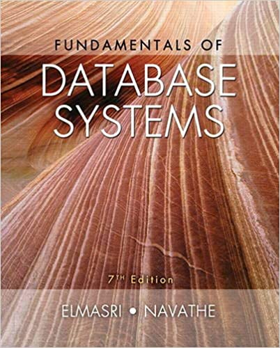 Instructor Solutions Manual for Fundamentals of Database Systems 7th Edition by Ramez Elmasri