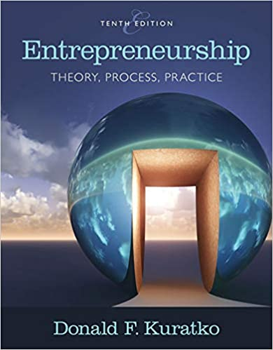 Test bank for Entrepreneurship: Theory, Process, and Practice 10th Edition by Donald F. Kuratko
