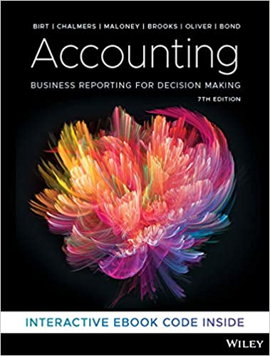 Solution manual for Accounting: Business Reporting for Decision Making 7th Edition by Jacqueline Birt的图片 1