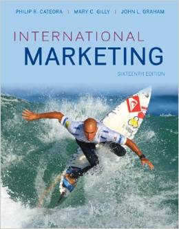 Test bank for International Marketing 16th edition by Philip R. Cateora的图片 1