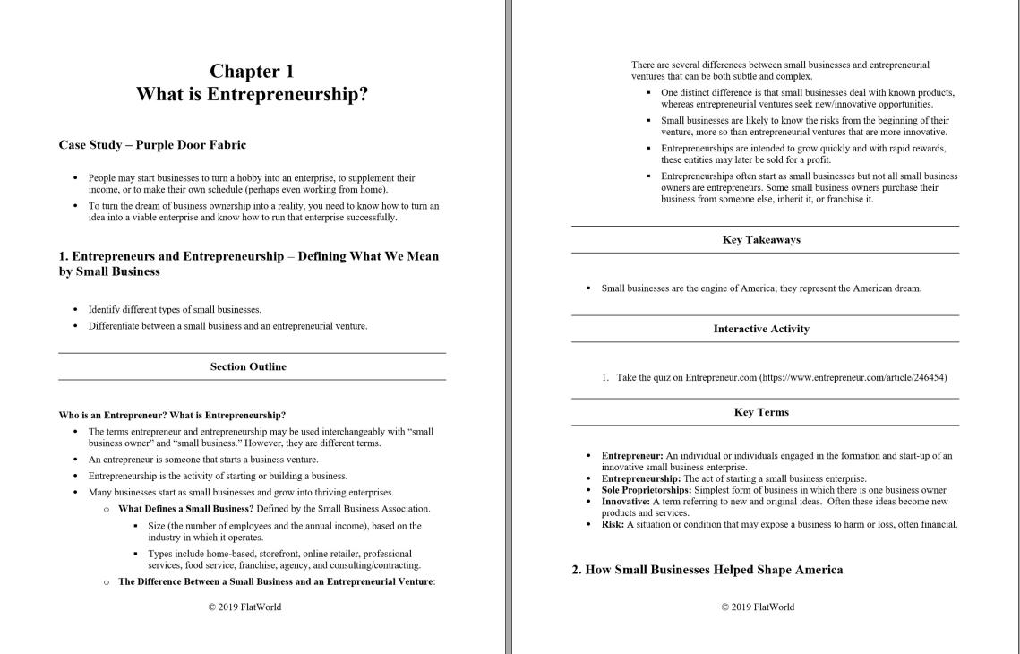 Instructor manual for Entrepreneurship Version 1.0 by Portolese的图片 2