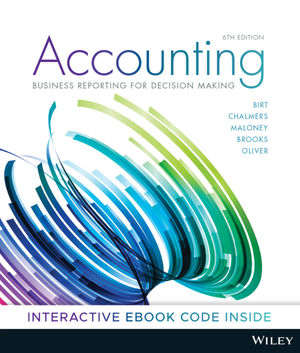 Test bank for Accounting: Business Reporting for Decision Making 6th Edition by Jacqueline Birt的图片 1