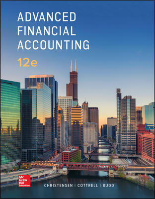 Solution manual for Advanced Financial Accounting 12th Edition by Theodore Christensen