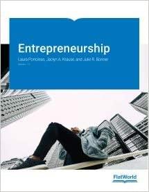Instructor manual for Entrepreneurship Version 1.0 by Portolese的图片 1