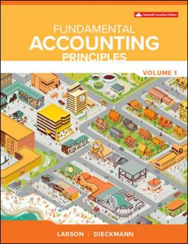 Test bank for Fundamental Accounting Principles Volume 1 16th Canadian Edition by Larson的图片 1