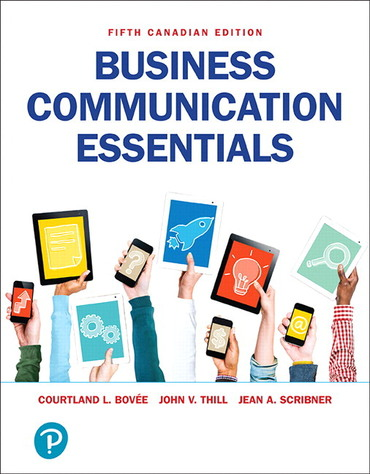 Test bank for Business Communication Essentials 5th Canadian Edition by Courtland L Bovee