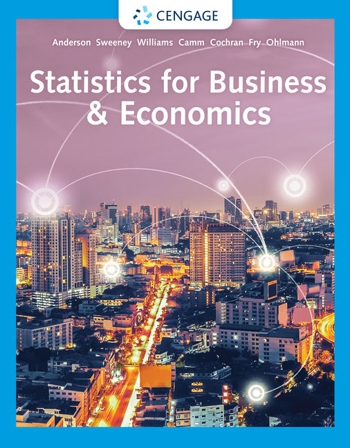 Test bank for Statistics for Business & Economics 14th Edition by David R. Anderson的图片 1