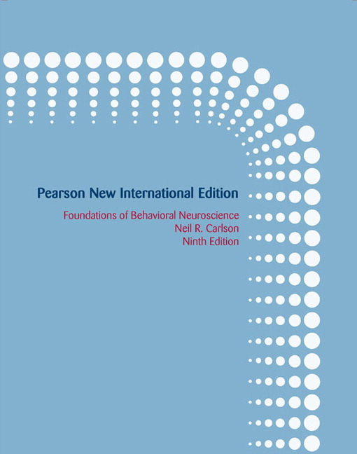 Test bank for Foundations of Behavioral Neuroscience: 9th New International Edition by Neil R. Carlson