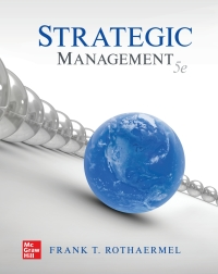 Test bank for Strategic Management 5th Edition by Frank Rothaermel